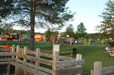 This is just part of the play area at All Seasons.