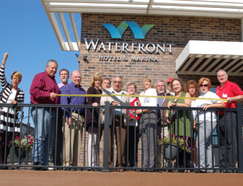 McHenry Chamber welcomes Waterfront Hotel & Marina with ribbon cutting ceremony